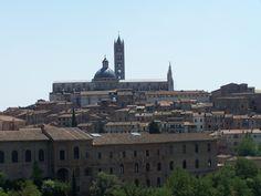Casco Antiguo de Siena. Toscana. Italia
