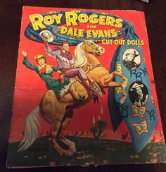 Original Mostly Uncut 1952 Roy Rogers Dale Evans Cut Out Dolls Whitman | eBay