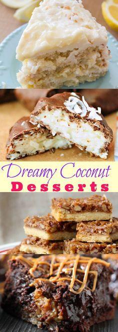 Dreamy Coconut Desserts
