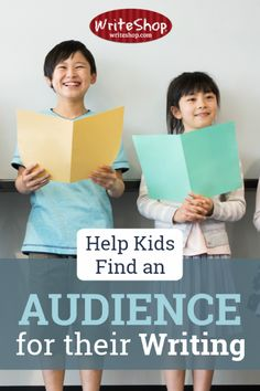 Having an audience takes your child beyond the point of writing for a grade. Why not start thinking of ways to broaden his understanding of what an audience can be? Learning To Write, Teaching Writing, Teaching Kids, Kids Learning, Homeschool Curriculum Reviews, 1st Grade Writing, Teaching Language Arts, Book Suggestions, Child