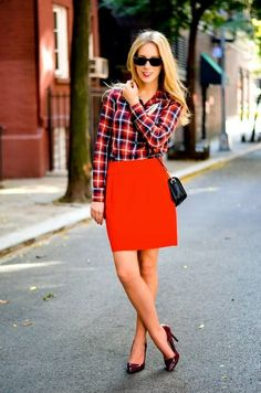 2013 fall\winter Does Plaid All Over fashion plaid shirts #street #style #plaid www.loveitsomuch.com