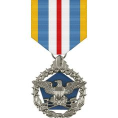 Defense Superior Service Anodized Medal