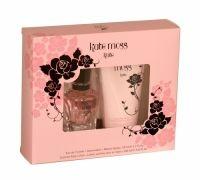 Kate Moss Kate 2 Piece Eau De Toilette Gift Set Set contains: 50ml EDT and 150ml sublime body lotion.