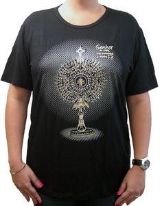 Camiseta Ostensório marca Ágape #camisetaostensorio, #artigosreligiosos, #modacatolica