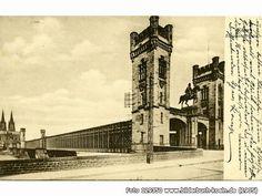 RechtsrheinischerAufgangzualtenRheinbrücke, Hohenzollernbrücke, 50667 Köln - Altstadt-Nord (1905)
