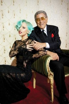 """Lady Gaga with Tony Bennett for """"The Lady Is a Tramp"""" (2011)"""