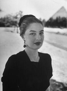 Egyptian film actress Camelia. Oct 1, 1947