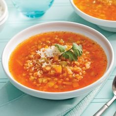 Soupe thaï aux lentilles corail - Recettes - Cuisine et nutrition - Pratico Pratiques