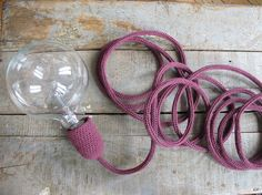 knitting lamp by desaccord on Etsy.