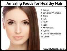 Foods For Healthy Hair And Scalp