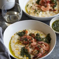 FoodPlus — Summer Corn Risotto With Shrimp