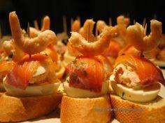 Receta Tapas del mar. Petit Chef