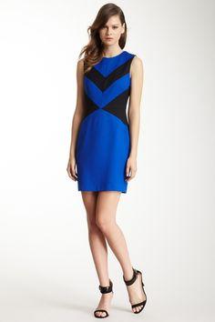 Cynthia Steffe Sleeveless Colorblock Dress from HauteLook