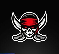 Skin Logo, Logo Face, Dragon Tattoo Stencil, Pirate Tattoo, Sports Decals, Game Logo Design, Sports Team Logos, Retro Logos, Gaming Wallpapers