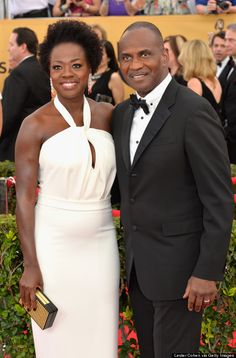 Viola Davis At The 2015 SAG Awards this is her Crowning Glory.  She looks stunning!!