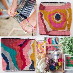 Tapestry weaving with Natalie Miller « Koskela
