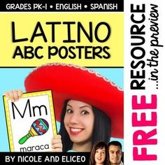 Latin American Alphabet Posters