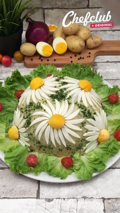 Amish Recipes, Potato Recipes, Italian Recipes, Cooking Recipes, Creative Food Art, Cute Snacks, Food Carving, Food Garnishes, Catering Food