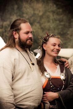 "From a photoset ""Viking Life"" by Vibeke Koehler"
