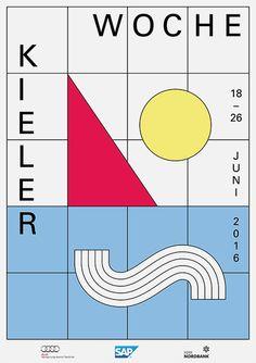 Website of graphic designer Katja Gretzinger. Graphic Design Studios, Graphic Design Posters, Graphic Design Typography, Branding Design, Poster Designs, Poster Layout, Print Layout, Layout Design, Print Design