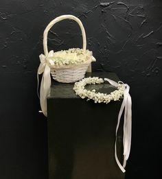 Flower Girls, Big Day, Crown, Flowers, Jewelry, Fashion, Jewellery Making, Moda, Jewerly