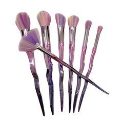 Makeup Brushes Professional Fantasy Set Eyeshadow Eyelid Eyebrow Eyeliner Lip Brushes Gradient Colorful Handle Cosmetics Tools #Affiliate