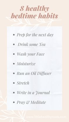 Good Habits, Healthy Habits, Healthy Routines, Boss Babe, Healthy Nights, Have A Good Night, Productive Day, Night Time Routine, Self Care Activities