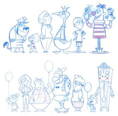 Sketches e personagens memoráveis, por Mark Christiansen
