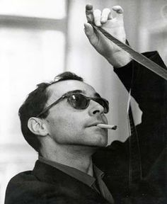"""A story should have a beginning, a middle and an end, but not necessarily in that order."" —JEAN-LUC GODARD (1930 - ), French-Swiss film director, screenwriter, and film critic."
