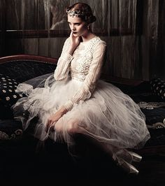 "Valentino Fall 2012 | ""A Pointe to Remember"" Alexina Graham by Sy Delorme 
