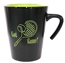 Women's Tennis World's Exclusive Tennis Gift Items- coffee mug