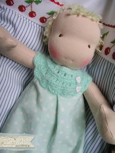 Waldorf baby doll made by Lalinda.pl