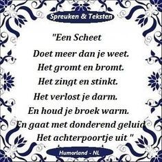 Dutch Quotes, This Is Us Quotes, Verse, Humor, Funny Texts, Positive Vibes, Poems, Funny Quotes, Funny Pictures