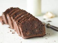 Supersaftiges Bananenbrot mit doppelt Schokolade