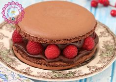 Cikolatali Frambuazli Dev Makaron Pasta-Videolu Tarif