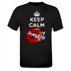 Keep calm and ZOMBIES T-Shirt