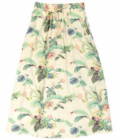 "Maison Scotch - Damen Rock ""Acapulco"" #maisonscotch #skirt #flowers"