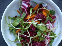 Sunflower Sprout Salad with Honey Lime Dressing