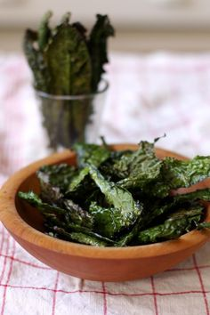 Kale Chips: this is my new FAVORITE snack. When your craving a crunchy, salty snack this little snack is the ticket!  I know its crazy but, they truly are very tasty!!!