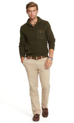 Carded-Cotton Shawl Sweater - Polo Ralph Lauren Shawl \u0026amp; Turtleneck - RalphLauren.com