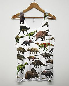 Dinosaur all over vest toys #baggy #retro #indie skater hipster american apparel,  View more on the LINK: http://www.zeppy.io/product/gb/2/371133773717/