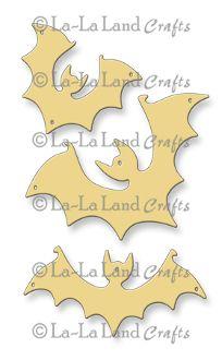 La-La Land Crafts - Die - Eerie Bats,$12.95
