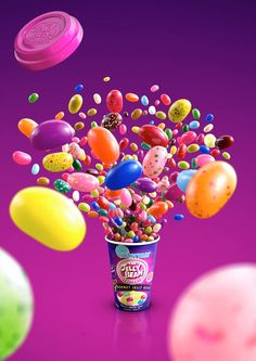 The Jelly Bean Factory on Behance