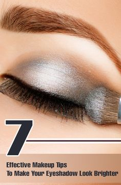 Want to get those dramatic eye looks which models flaunt? So, here are effective tips that can help you get the bright eyeshadow effect on your beautiful eyes.