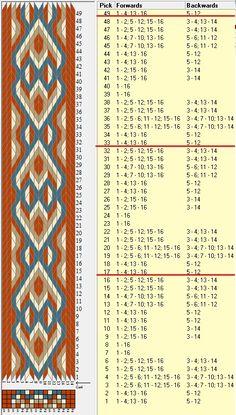 16 tarjetas, 4 colores, repite cada 16 movimientos // sed_555 diseñado en GTT༺❁