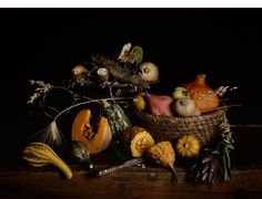 Nature morte aux courges  by Guido Mocafico