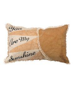 'My Sunshine' Throw Pillow