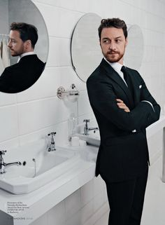 Oh, James McAvoy! Have you seen...?! I forgot what I was searching for...