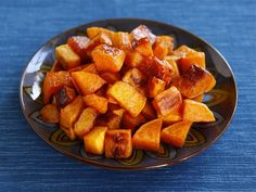 Roasted butternut squash with brown sugar sage butter sauce!!!