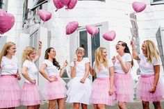 Sex and the City Bachelor Party in Düsseldorf . - Sex and the City bachelor party in Düsseldorf # jgadüsseldorf - Bachelorette Outfits, Bachelorette Party Games, Bride To Be Balloons, Bridal Outfits, Party Outfits, Vintage Bridal, Tutu, Marie, Bridal Shower